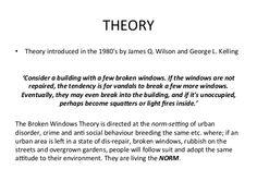 broken windows theory - Google Search