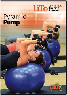 Bonus Pyramid Pump - This optional bonus full body workout utilizes the full pyramid system to maximize your exercise potential in the shortest amount of time possible. 300 Workout, Abs Workout Video, Workout Dvds, Ab Workout At Home, Toning Workouts, At Home Workouts, Exercises, Pyramid Training, Cathe Friedrich