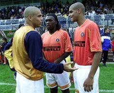 Ronaldo, Clarence Seedorf and Adriano