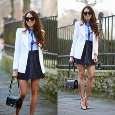 Awwdore Blouse, Nowistyle Skirt, Chanel Bag