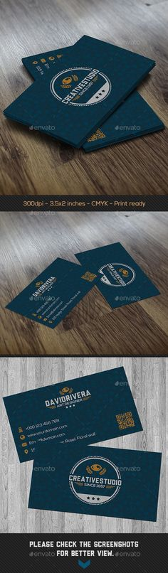 White green clean business card green clean business cards and blue creative business card reheart Image collections