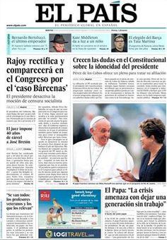 Los medios del mundo elogian al papa Francisco.