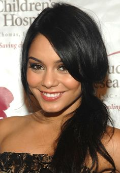 Vanessa Hudgens Teased Ponytail Side Ponytails Everyday Hairstyles Fast Hairstyles Summer Hairstyles