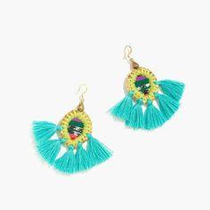 c581a55c2 Fan Tassel Earring (Black) | Honorooroo Lifestyle Online Shop | Pinterest |  Lifestyle online shopping