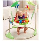 #Fisher Price Rainforest Jumperoo.  A toy to help stimulate your baby development. £84.99