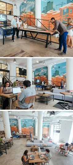 135 co working space startup office interiors The space has hosted a wide range of tenants from all sorts of industry. Corporate Office Design, Corporate Interiors, Office Interiors, Corporate Offices, Best Office, Open Office, Cool Office, Small Office, Workspace Design