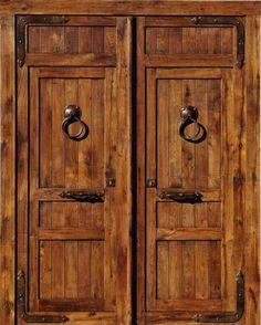 1000 images about puerta de acceso on pinterest puertas - Puerta rustica exterior ...