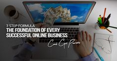 3 Step Formula - The Foundation Of Every Successful Online Business Successful Online Businesses, Understanding Yourself, Moving Forward, Entrepreneur, Foundation, Let It Be, Tips, Move Forward, Foundation Series