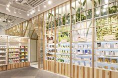 Design Hardy INNISFREE Flagship store Hongyi Plaza, Shanghai