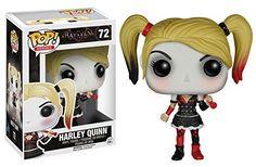 Funko - Figurine Batman Arkham Knight - Harley Quinn Pop 10cm - 0849803063849