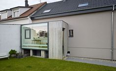 Loïc Picquet, Architect Project: Residential extension in Saint-Louis, Alsace, France. Photography: Stéphane Spach Read more at http://www.wallpaper.com/v2/directory3/architects2014#1vcDouPyLryEFFOa.99