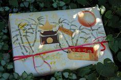 Gift wrap for a little lego ninjago fan !