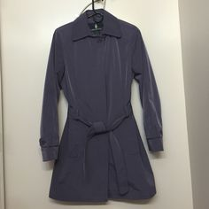 London Fog Rain Coat MAKE AN OFFER Lilac rain coat, brand new, never been worn great for fall or spring  London Fog Jackets & Coats Pea Coats