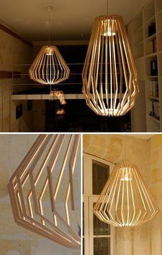Laser cut lights