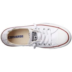 Converse Chuck Taylor All Star Shoreline Slip-On Ox (White) Women's... ($50) ❤ liked on Polyvore featuring shoes, sneakers, 18. converse., converse, white sneakers, white rubber shoes, slip-on shoes, white slip on shoes and pull on sneakers