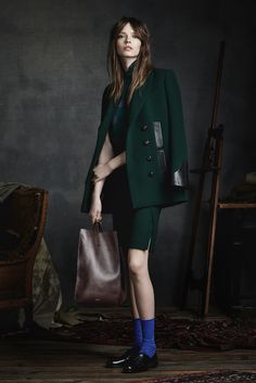 Maiyet Pre-Fall 2015 Fashion Show - Mina Cvetkovic