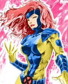 Jean Grey by Phillip Tan