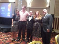 Scott, Mr Beaker and Myself with Heidi an Orville at the #scentsy #awards #dinner - http://www.wickfreecandles.net/
