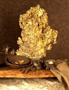 Extra Large Gold Nugget.