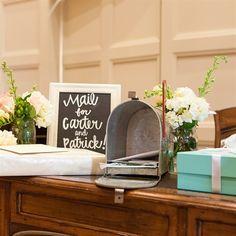50 Charming Mailbox Wedding Décor Ideas | Church weddings, Wedding ...