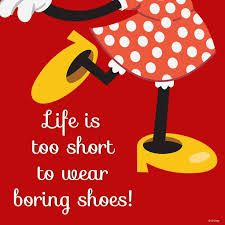 Bilderesultat for sayings about shoes