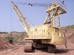 Mining Equipment, Heavy Equipment, Shovel, Crane, Utility Pole, Engineering, Around The Worlds, Construction, Building