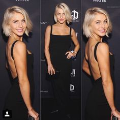 Every time I see her hair I want to chop mine off like hers,Julianne Hough. Short Hair Cuts, Short Hair Styles, Blonder Bob, Brown Blonde Hair, Great Hair, Pretty Hairstyles, Bob Hairstyles, Hair Dos, Her Hair