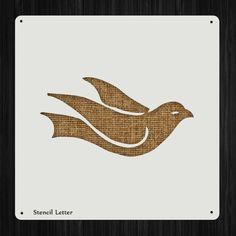 Bird 54 Style 1569 DIY Stencil Clear Plastic Acrylic Mylar Reusable