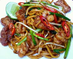 I have been craving for mee goreng (meaning fried noodle in Malay) ever since I made my last batch of sambal tumis. This si...