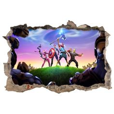 Vinilos y pegatinas videojuegos fortnite endgame 3d 3d, Fictional Characters, Shopping, Frames, Decorating Bedrooms, Decorate Walls, Wall Decals, Youth Rooms, Vinyls