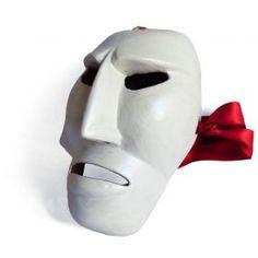 "Mask ""Issohadores"" 02 Traditional mask of the Mamoiada Carnival (Barbagia, central Sardinia). Made by hand. #madeinitaly #artigianato #mask #maschera"