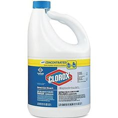 Clorox oz Germicidal Bleach at Lowe's. Clorox Concentrated Germicidal Bleach is a high-quality concentrated disinfectant that kills a broad spectrum of microorganisms and is excellent for Laundry Supplies, Cleaning Supplies, Cleaning Products, Clorox Bleach, Janitorial, Emergency Preparedness, Survival, Deodorant, The Cure