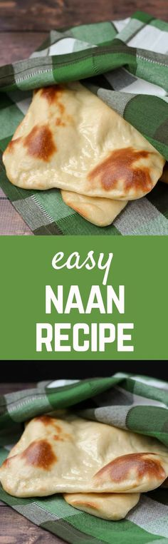 Naan is very easy to make -- this naan recipe is made even easier by starting it a day ahead. Split the work up to take the stress out of baking fresh bread. Get the recipe on RachelCooks.com!
