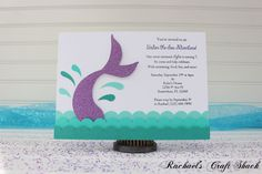 Hey, I found this really awesome Etsy listing at https://www.etsy.com/listing/239166210/mermaid-birthday-party-invitations