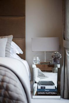 pretty shades of grey for the bedroom