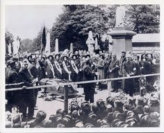 Booth's funeral