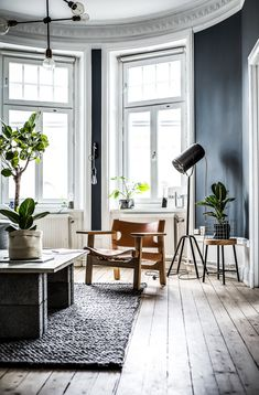 The Perfect Scandinavian Style Home Living Room Colors, Small Living Rooms, Living Room Decor, Bedroom Decor, Bedroom Modern, Scandinavian Style Home, Scandinavian Apartment, Loft Interior, Bathroom Interior Design