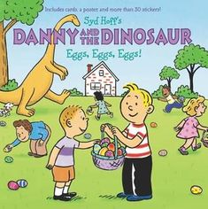Danny and the Dinosaur: Eggs, Eggs, Eggs! - by Syd Hoff (Paperback) Make A Dinosaur, Dinosaur Eggs, Dinosaur Crafts, Dinosaur Fossils, Dinosaur Display, Dinosaur Worksheets, Easter Books, Learning Sight Words, Book Format