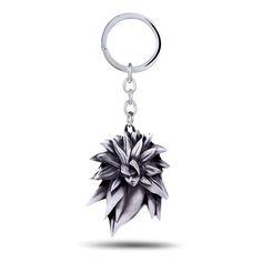 DRAGON BALL Key Chain Super Saiyan 3 Son Goku Key Rings For Gift Chaveiro Car Keychain Jewelry Game Key Holder Souvenir YS11103