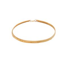 Five and Two Gold Choker
