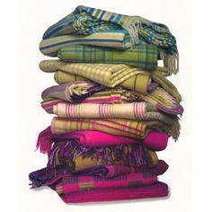 blankets of British-ness plaid
