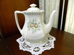 Adams Madeleine Tea or Coffee Pot Teapot 8699 by TheVintageTeacup