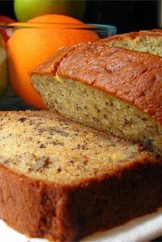Low Unwanted Fat Cooking For Weightloss Janet's Rich Banana Bread Just Want To Chime In Here And Say That This Bread Is Delicious. It Came Out Soft And Moist But Not Underdone On The Inside With A Slightly Crunchy Exterior. Janet's Rich Banana Bread Recipe, Moist Banana Bread, Banana Bread Recipes, Baked Banana, Janets Banana Bread Recipe, Banana Walnut Muffins Moist, Banana Bread Baking Powder, How To Make Banana Bread Recipe, Banana Bread With 2 Bananas