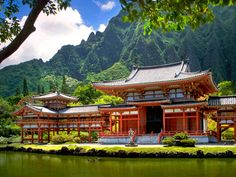 Buddhist Temple in Hawaii