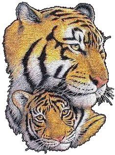 Tigers glitter gifs