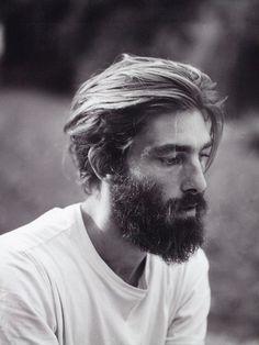 bearded hot guy