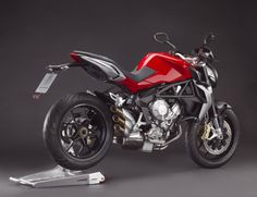The stunning looking MV Agusta Brutale 675.