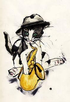 A Jazz Cat