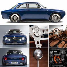 Alfa Cars, Alfa Romeo Cars, Classic Sports Cars, Classic Cars, British Sports Cars, Alfa Bertone, Sweet Cars, Car Car, Exotic Cars