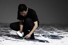 Artista al lavoro, Motoi Yamamoto, Labirinto di sale